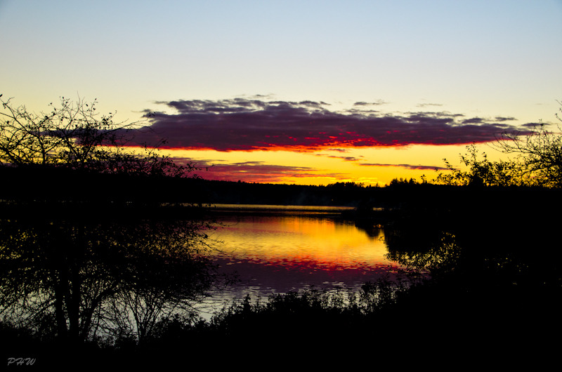 LaHave River Autumn Sunset