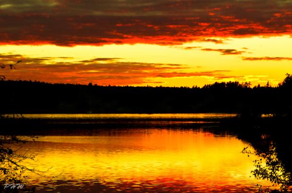 LaHave River Sunset