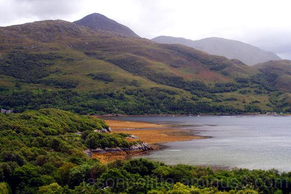 Scottish hills near Mallaig