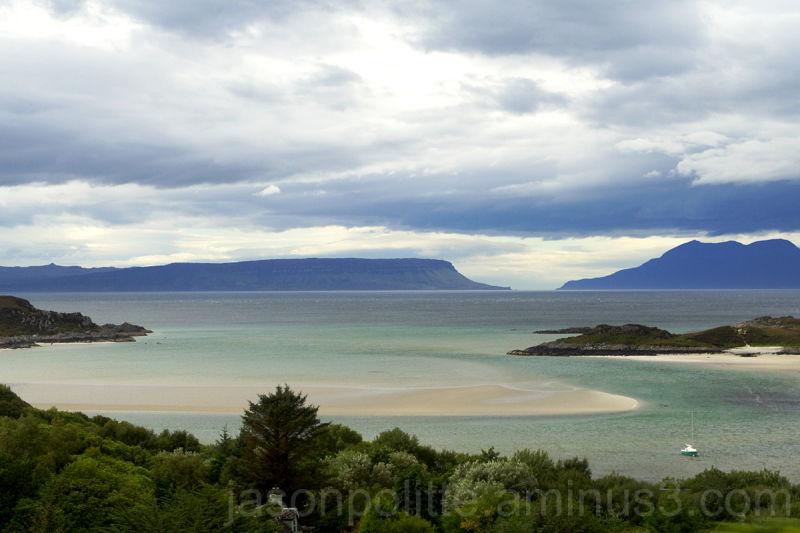 Coast of Mallaig Scotland