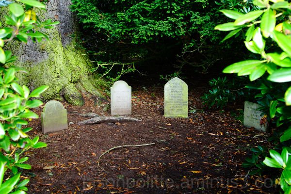 Pet Cemetary at Glamis Castle