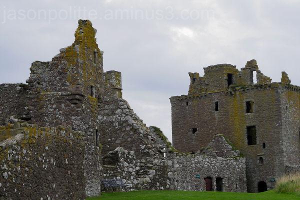 Inside Scotland's Dunottar Castle