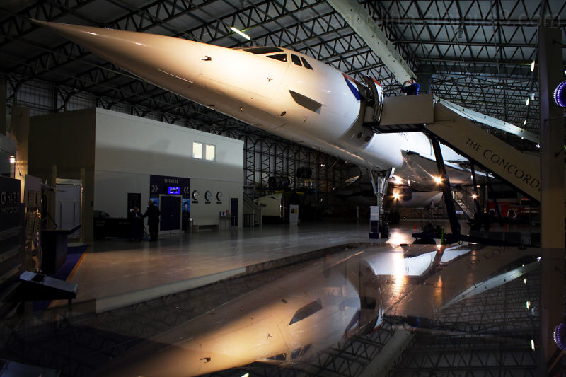 The Concorde Experience in East Fortune, Scotland