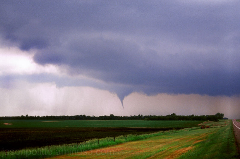 Tornado near Spirit Lake, South Dakota June 24
