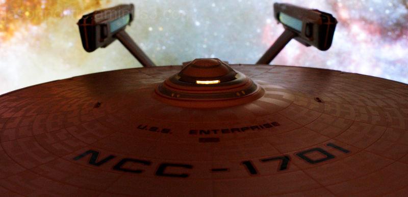NCC-1701 U.S.S. Enterprise Refit Antennae Galaxies