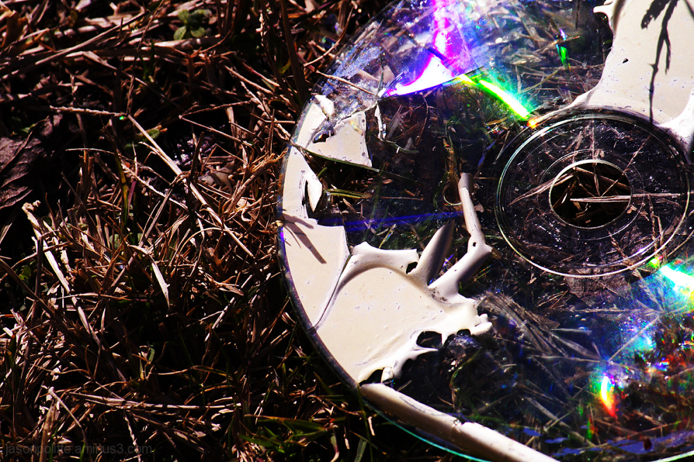 Broken CD: The CD is Dead