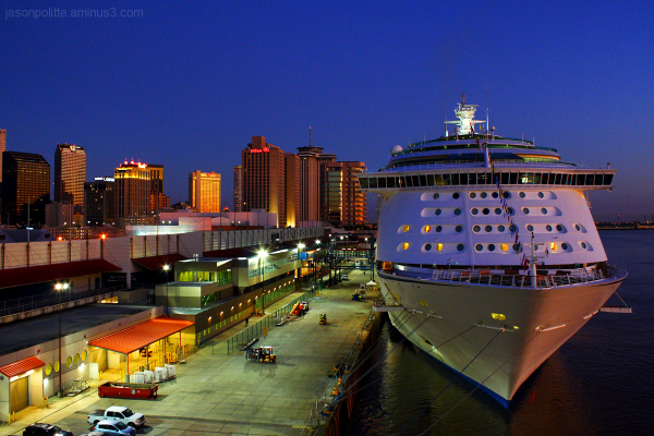 Royal Caribbean Voyager of the Seas at New Orleans