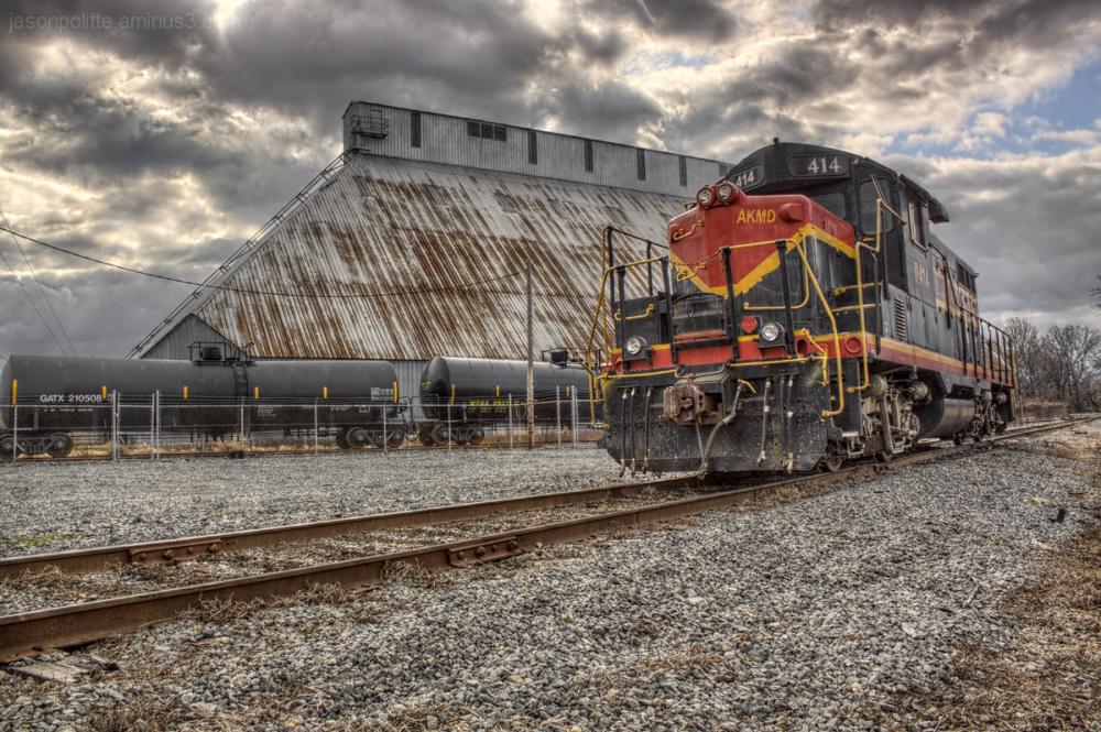 Train Engine 414 Arkansas Midland Railroad