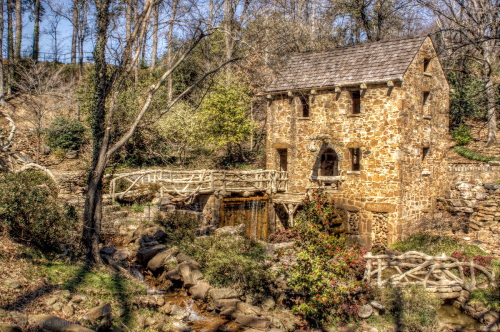 Pugh's Mill in North Little Rock, Arkansas