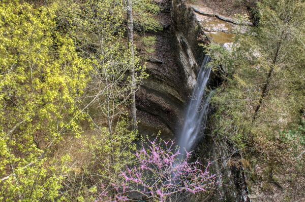Cornelius Falls Overlook - Heber Springs, Arkansas