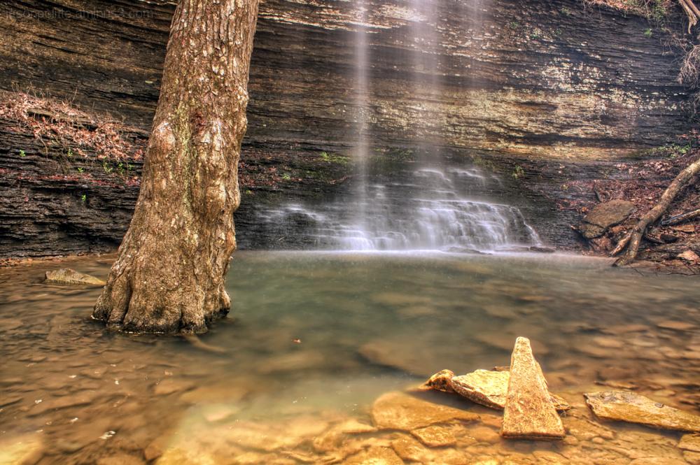 Cornelius Falls in Heber Springs, Arkansas