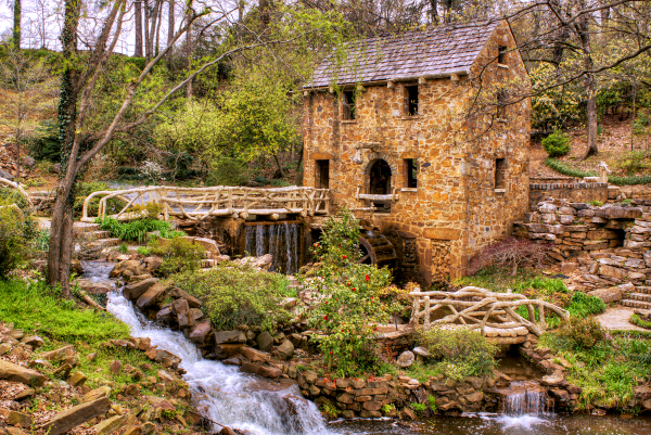 The Old Mill in North Little Rock, Arkansas