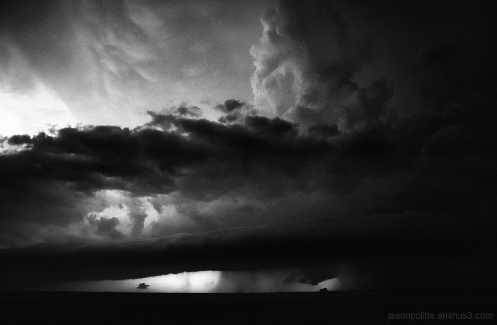 Supercell thunderstorm in the Texas Panhandle