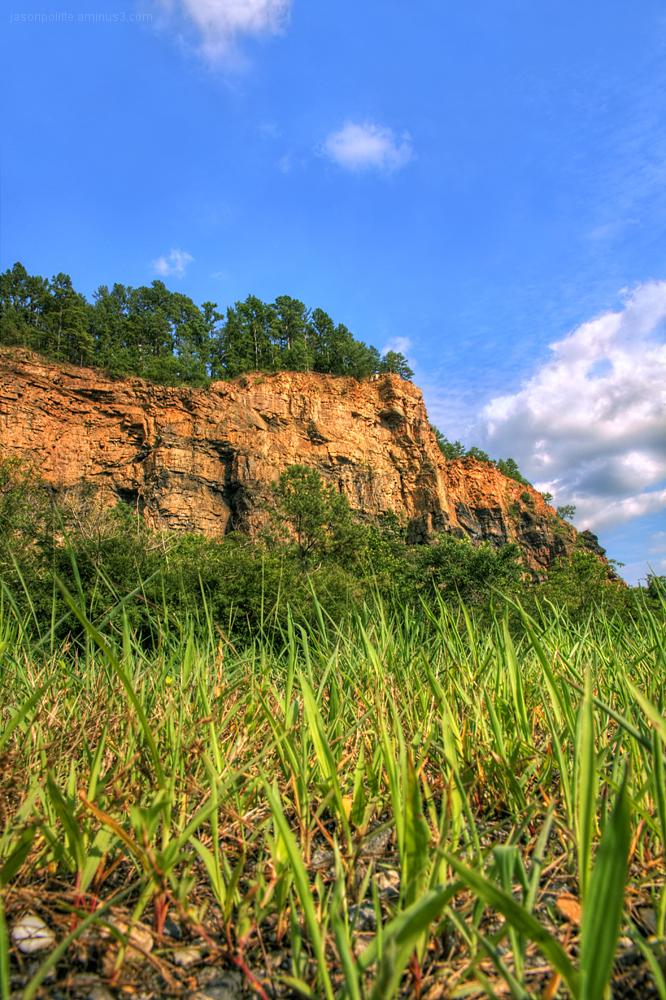 The Bluffs of Big Rock Quarry