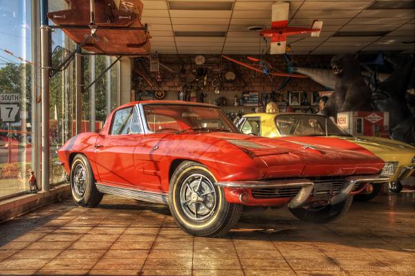 Corvettes, Elvis, Nehi Soda - it's all right here.