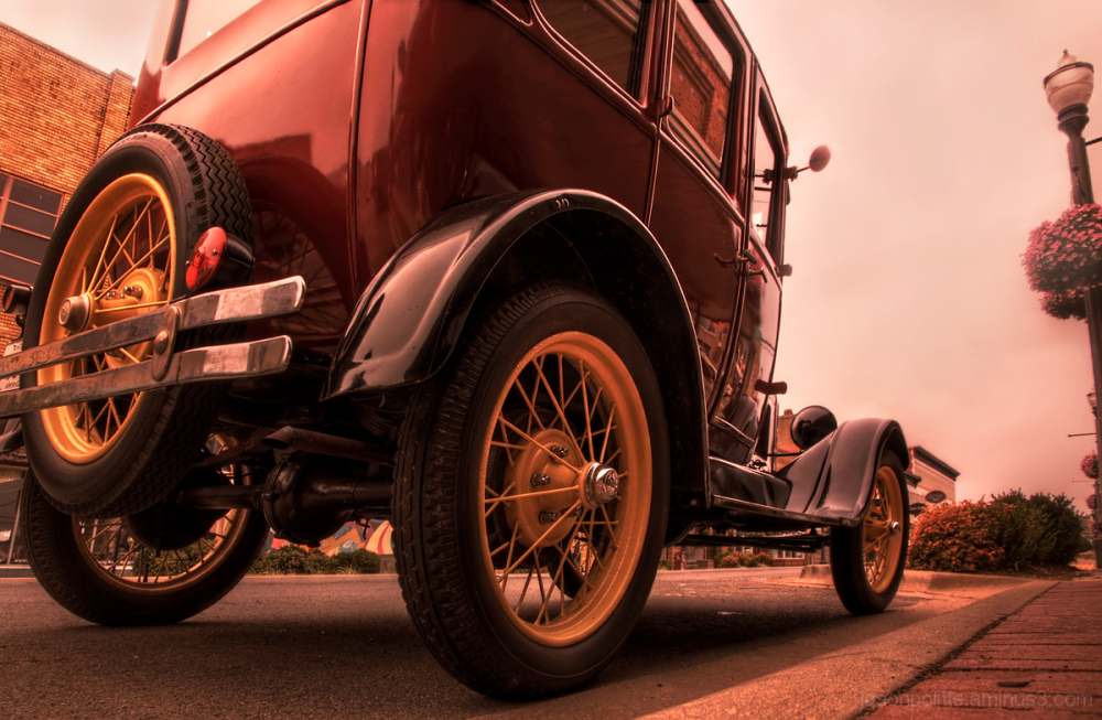 Turning heads with a Ford Model A