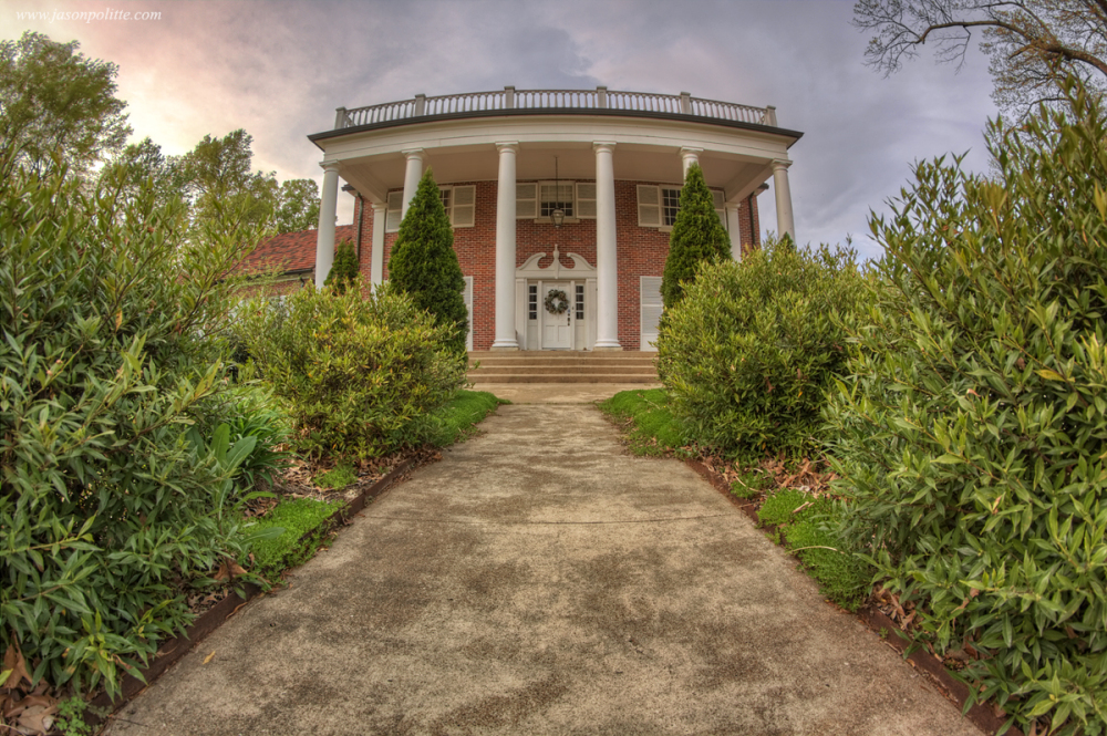 The Ward Mansion in Conway, Arkansas
