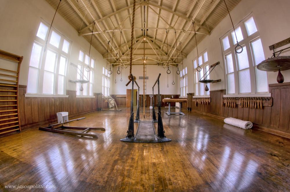 Fordyce Bathhouse Gymnasium