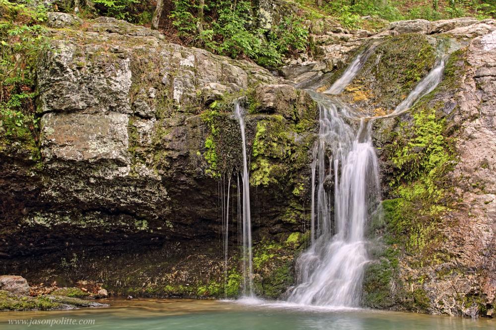 Falls Creek Falls at Lake Catherine State Park