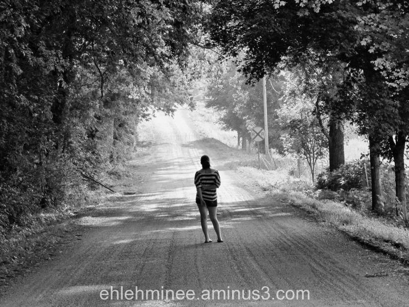 Girl on Dirt Road