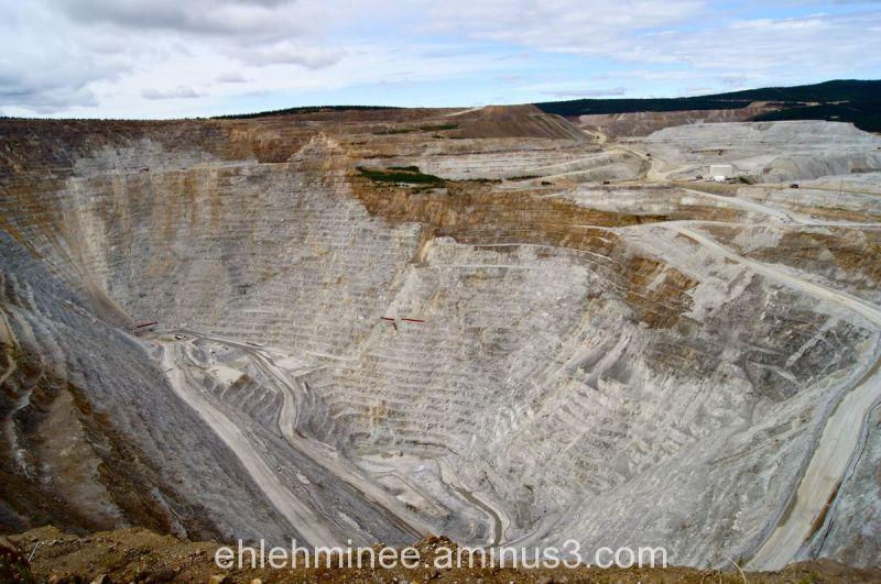 Fort Knox Open Pit Gold Mine Fairbanks Alaska