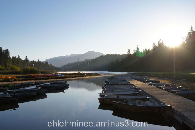 Hume Lake Sunrise