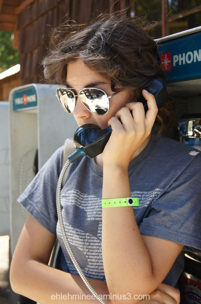 Girl on Pay Phone