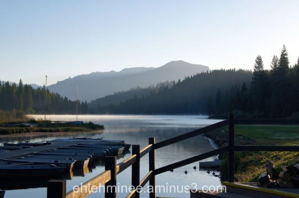 Hume Lake on the Deck