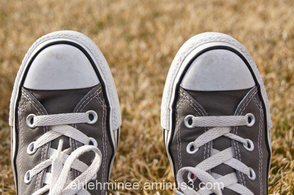 My Grey Converse