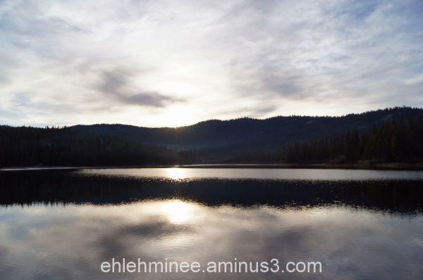 Hume Lake Reflection