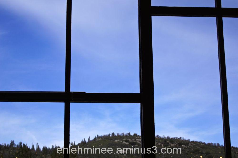 Hume Lake Ponderosa Dining Hall Window