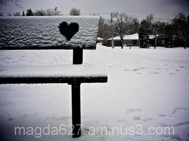 I heart winter