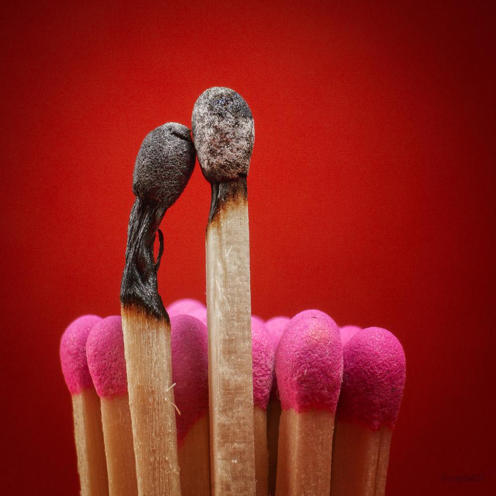 Matchsticks in love