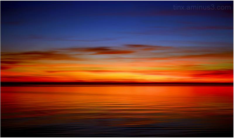 Loojanguvärvid, Sunset colours