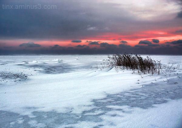 Talvine õhtu, Wintry evening