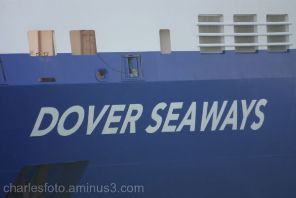 Ferry towards Dover