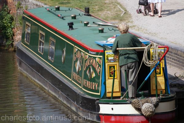 Barge, on the Kennet and Avon canal