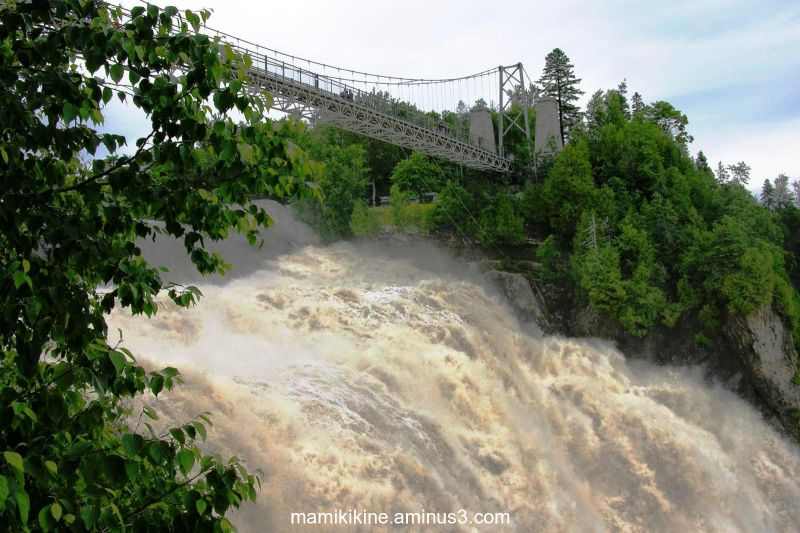 Chutes Montmorency, Montmorency Falls