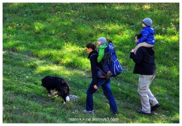 Randonnée en famille, family hike