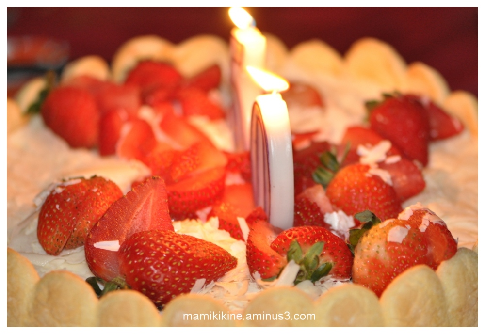 Gâteau d'anniversaire, Birthday cake