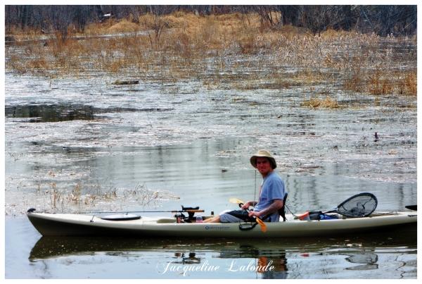 Le kayakiste heureux, Happy kayaker