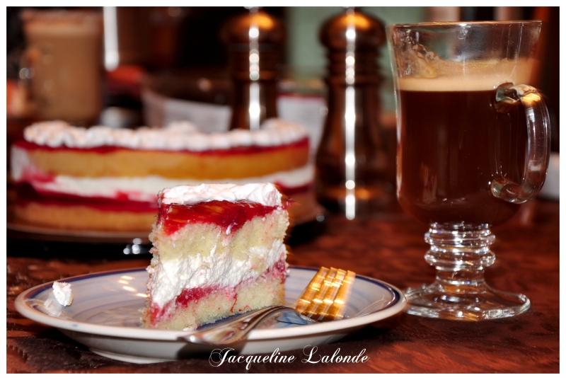 Shortcake aux fraises, strawberry shortcake