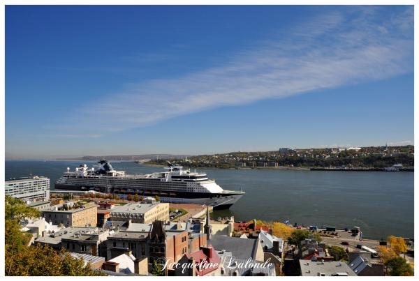 Croisière à Québec, Cruise to Quebec