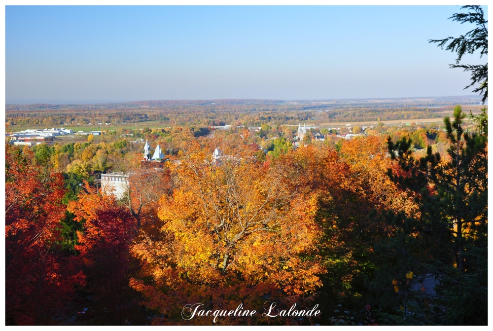 Vue du Mont Rigaud, View from Mount Rigaud