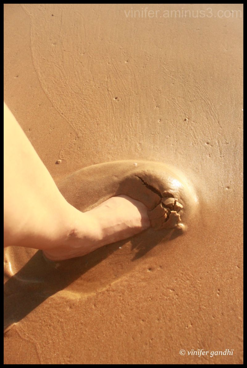 Setting foot