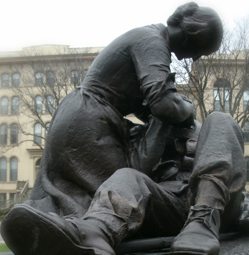 A WAR MEMORIAL OF A WOMAN BY A WOMAN