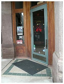 corner Door to Cherry Guitar