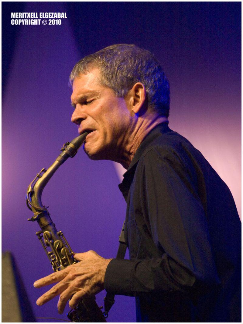 David Sanborn. Getxo Jazz 2010