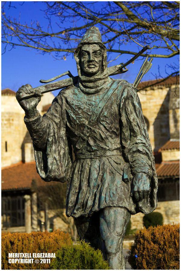 Sculpture in Galdakao
