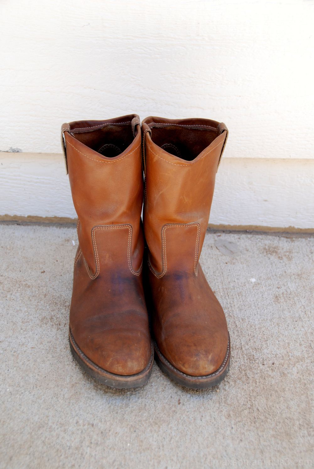 My father's boots